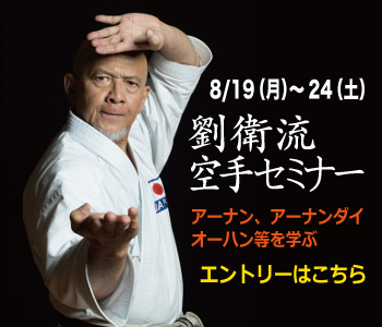 2019/8/19〜24 劉衛流・仲井間憲里生誕200年記念 世界武芸祭・空手セミナー